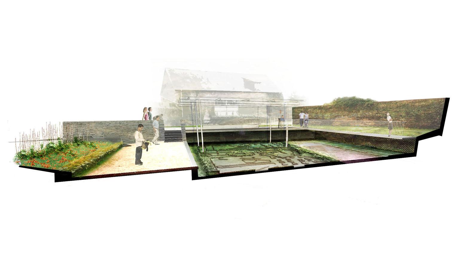 la plage architecture et paysage parc arch ologique. Black Bedroom Furniture Sets. Home Design Ideas