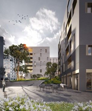 63 logements zac de la courrouze