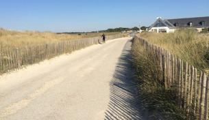 PARCOURS ET aire de stationnement naturelle pointe de la torche (29) mandataire : la plage livré 2015