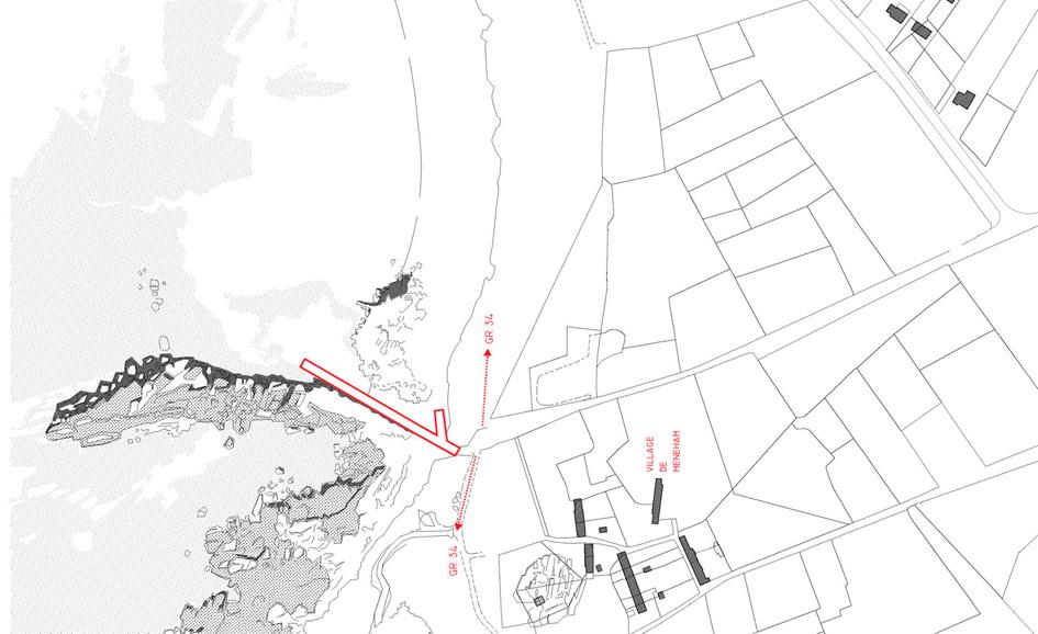 La Plage architecture et paysage _ Cale de Meneham (1)