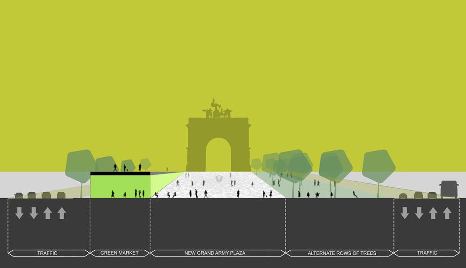 La Plage architecture et paysage_Reinventing Grand Army Plaza (6) copie