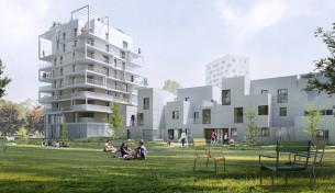 63 logements zac baud chardonnet rennes (35) mandataire : MFR + Line up architectes 2018