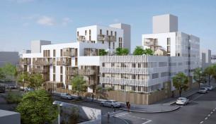 93 logements zac de guines rennes (35) mandataire : périphériques architectes concours lauréat 2018