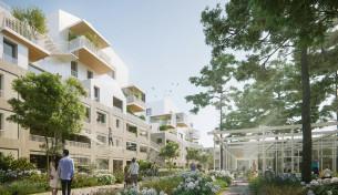 126 logements zac du moulin-boisseau carquefou (44) mandataire : HUCA + L2 architectes concours 2018