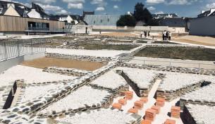 parc archéologique et centre d'interprétation carhaix plouguer (29) mandataire : c.proux architecte livré 2018